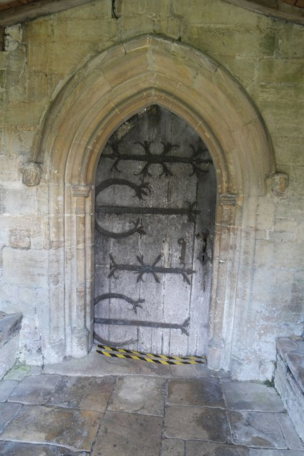 Church of St Andrew, Pickworth: South Door