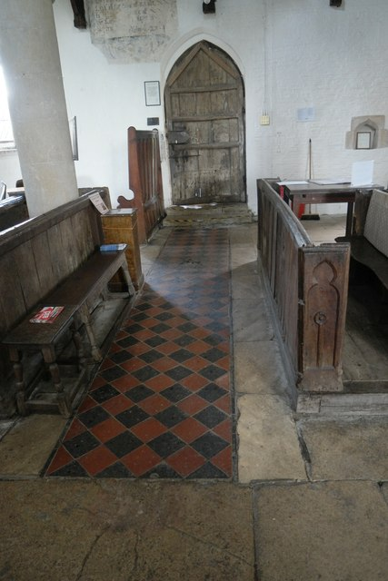 Church of St Andrew, Pickworth: Around the door