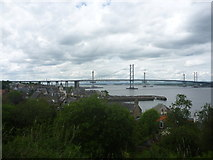 NT1378 : South Queensferry Townscape : A View From The Back Braes by Richard West