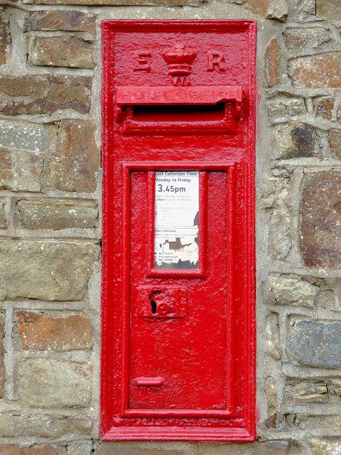 Edwardian Post Box at Elmscott, Devon