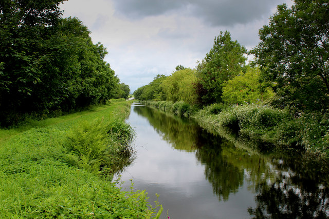 Lancaster Canal South of Crooklands