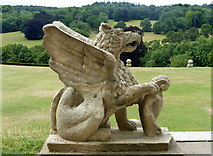 TQ1352 : Griffin at Polesden Lacey by pam fray