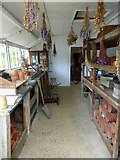 TQ1352 : Head Gardener's potting shed, Polesden Lacey by pam fray
