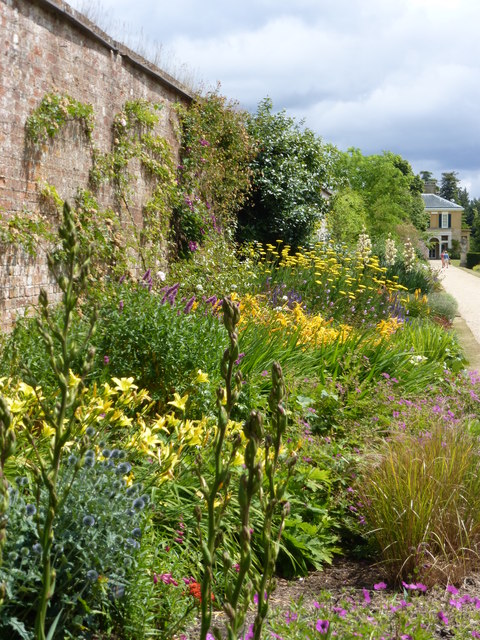 Herbaceous border, Polesden Lacey