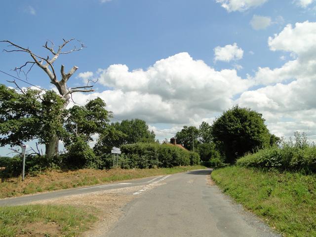 Helhoughton 2 miles, straight ahead