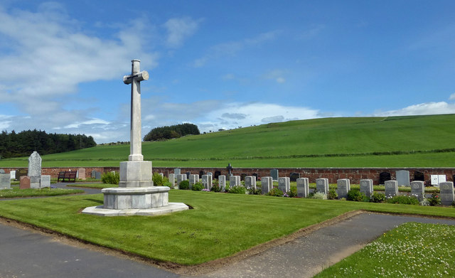 War Graves at Dunure Cemetery