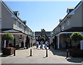 SP5821 : Side path in Bicester Village by Jaggery
