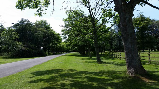 The West Derby entrance to Croxteth Country Park