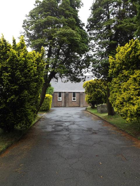 Coedffranc Cemetery entrance, Skewen
