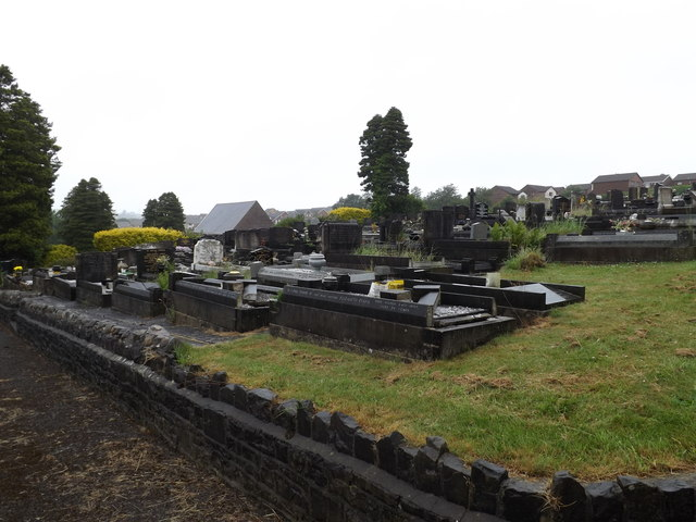 Plot K, Coedffranc Cemetery
