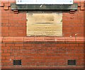 SJ9394 : Memorial Stones at Haughton Green Sunday School by Gerald England