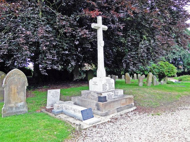 Whissonsett War Memorial