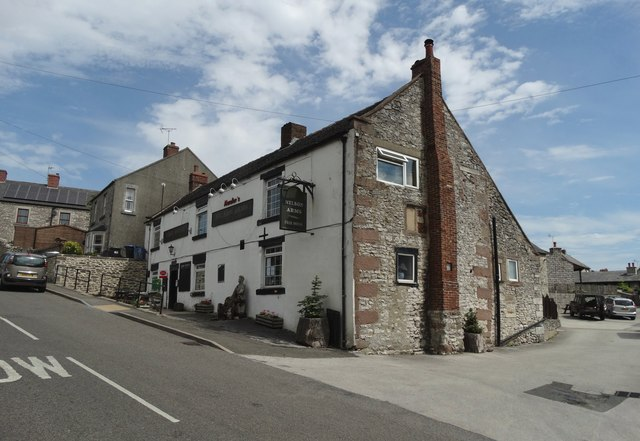 """The Nelson Arms"" in Middleton by Wirksworth"
