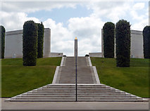 SK1814 : The Armed Forces Memorial by Graham Hogg