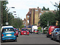 TQ3478 : Traffic barrier, Varcoe Road, South Bermondsey by Stephen Craven