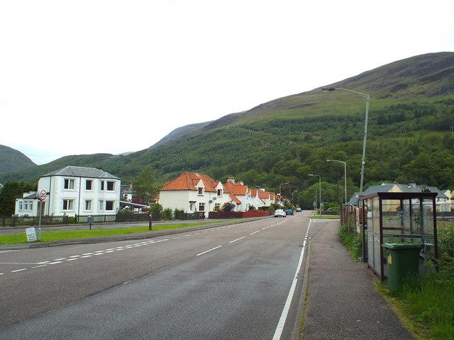 Lochaber Road, Kinlochmore