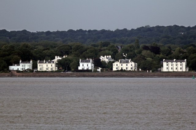Houses on Grassendale Esplanade