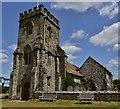 TQ0514 : Parham: St. Peter's Church by Michael Garlick