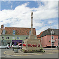 TG0738 : The War Memorial at Holt by Adrian S Pye