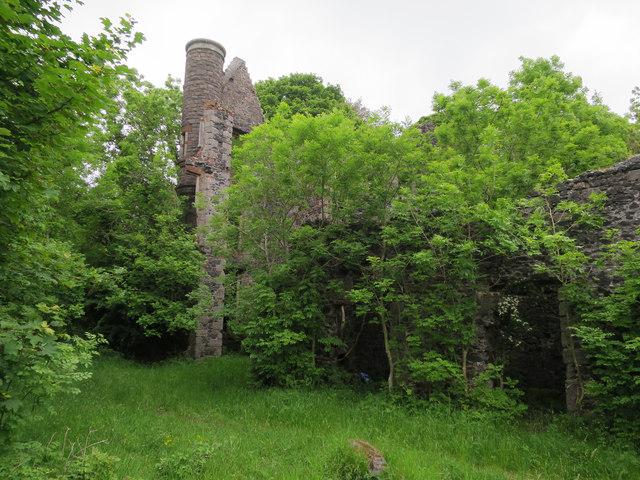Oban Hydro ruins