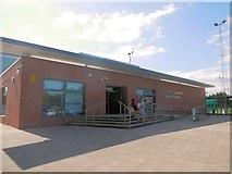 SU6403 : Portsmouth gymnastics & Tennis centre by Paul Gillett