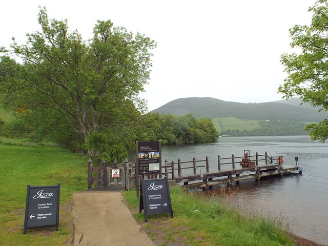 Jetty at Urqhart Castle