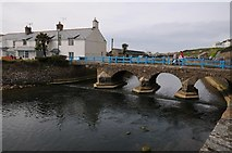 SS2006 : Footbridge in Bude by Philip Halling