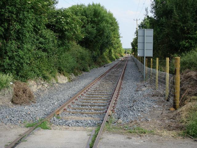 Railway from Barrington quarry