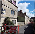 SO8609 : Victoria Street closed ahead, Painswick by Jaggery