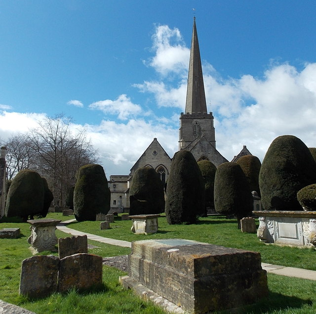 Yews in St Mary's churchyard, Painswick