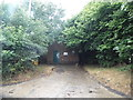 SU7690 : Telephone exchange on Dolesden Lane by David Howard