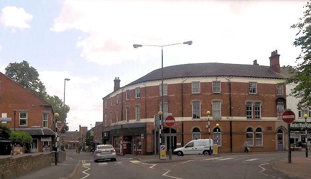 Chapel Street approaching Nottingham Road