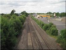 ST0207 : Cullompton railway station (site), Devon by Nigel Thompson
