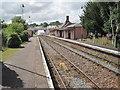 SX8499 : Crediton railway station, Devon by Nigel Thompson