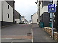 SX0766 : New housing, Northey Road / Fordh Northey off Crinnick's Hill, Bodmin by Robin Stott