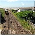 SN3610 : Kidwelly train, Ferryside by Jaggery