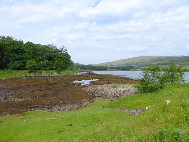 Inlet near the head of Loch Scresort