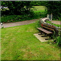 SO5509 : Jubilee Bench, Newland by Jaggery