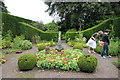 SJ6780 : The Herb Garden at Arley Hall by Jeff Buck