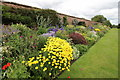 SJ6780 : Herbaceous Border at Arley Hall by Jeff Buck