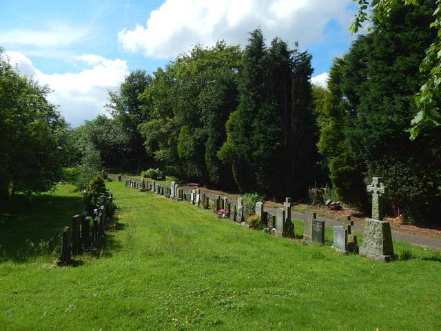 New Kilpatrick Cemetery: western boundary