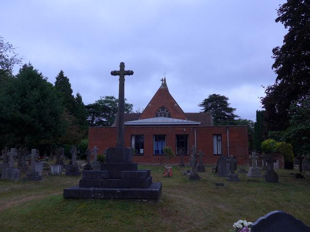St John the Baptist, Crowthorne: mid July 2015