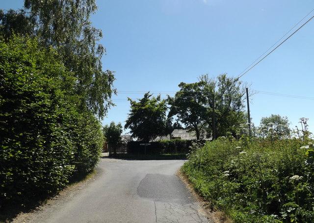Cratfield Lane, Baynard's Green