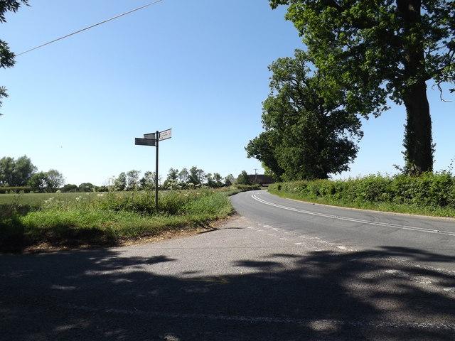 B1118 Chickering Road, Syleham