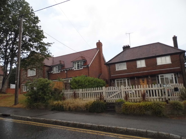 Houses on Marlow Road, Lane End
