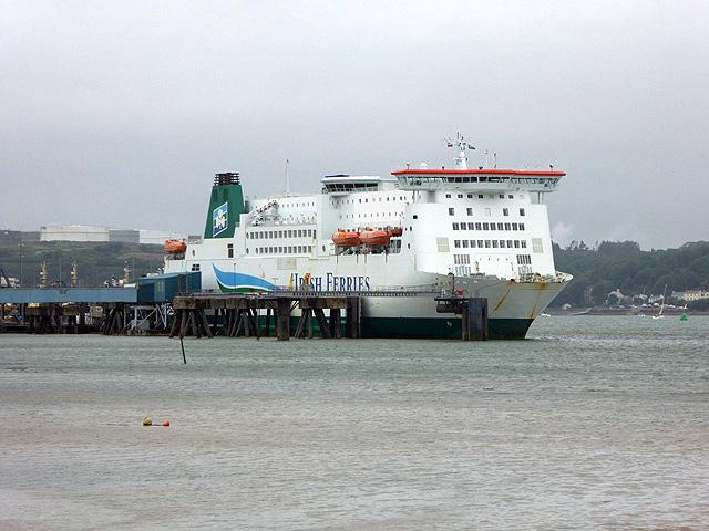 Irish Ferry in Pembroke Dock