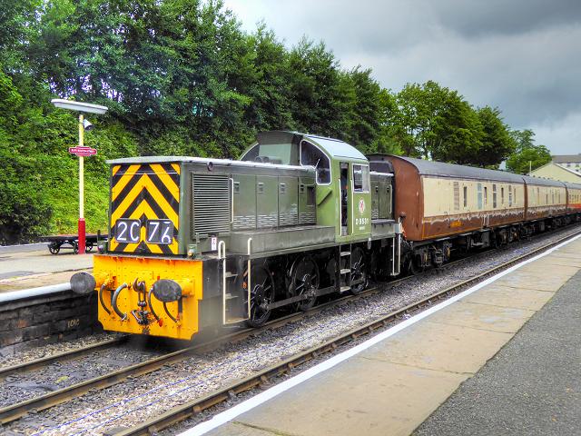 East Lancashire Railway, Ernest at Bolton Street Station