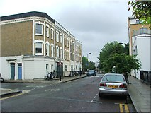 TQ3385 : Nevill Road, Stoke Newington by Chris Whippet
