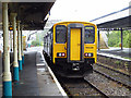 SN1200 : A train for Pembroke Dock standing at Tenby station by John Lucas
