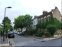 TQ3386 : Chesholm Road, Stoke Newington by Chris Whippet